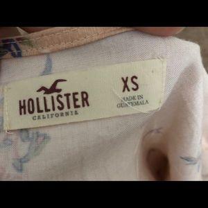 Hollister Other - Pink flower print romper
